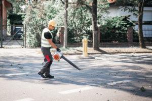 uprzątnięcie terenu po pracy