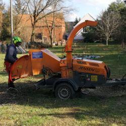 rozdrabnianie gałęzi i pielęgnacja drzew na Stabłowicach